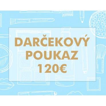 Darčekový poukaz 120€