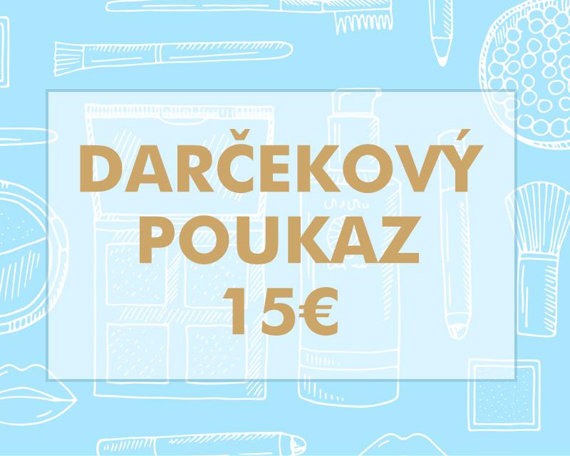 Darčekový poukaz 15€