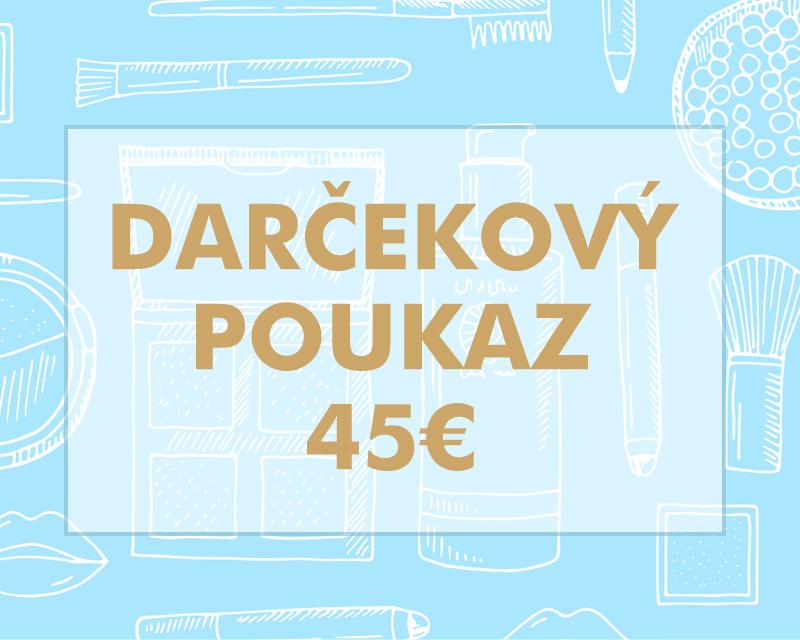 Darčekový poukaz 45€