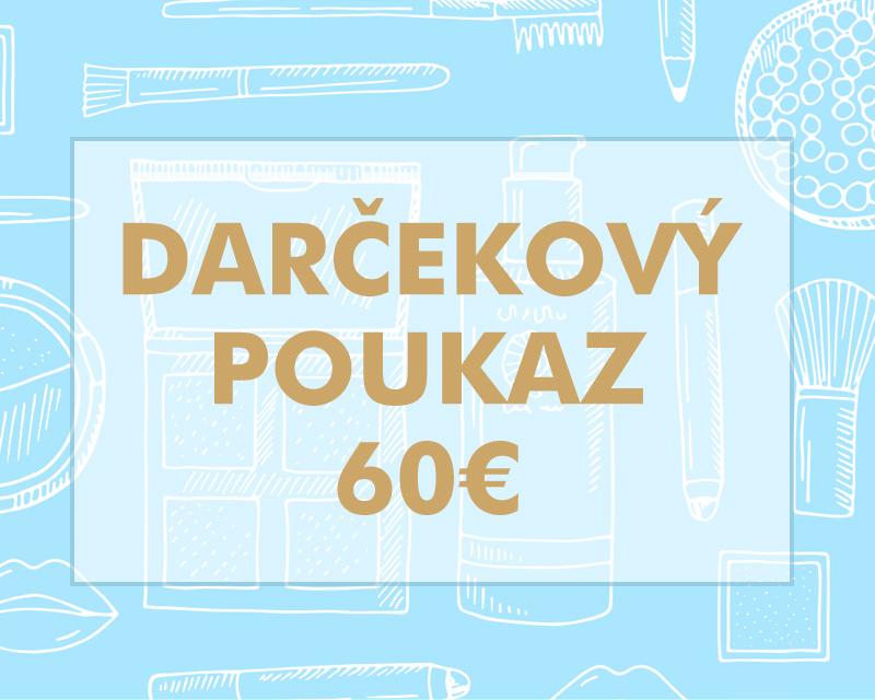 Darčekový poukaz 60€