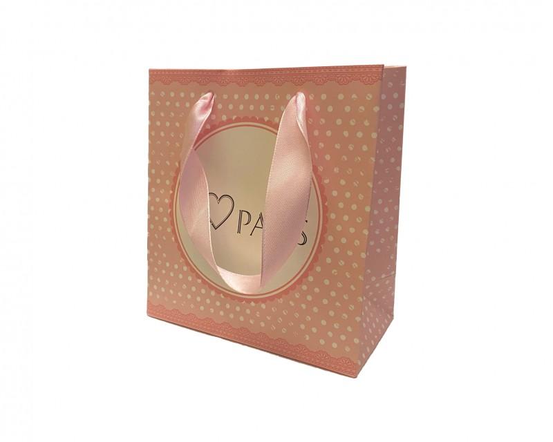 Darčeková taška ružová