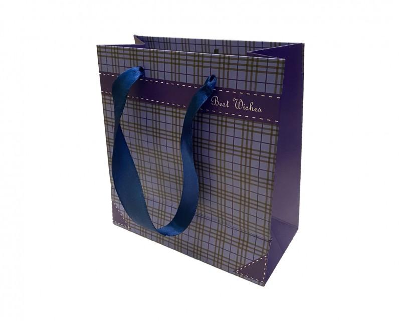 Darčeková taška modrá