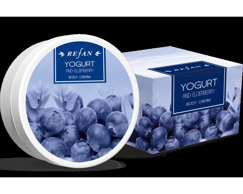 Jogurt a čučoriedka telový krém 200ml